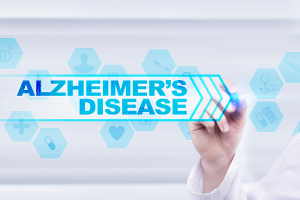 Hand writing Alzheimer's Disease